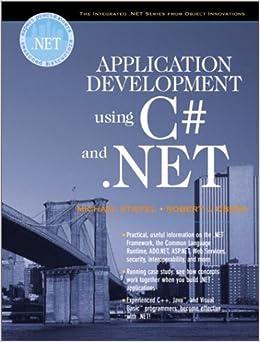 Application Development Using C# and .NET