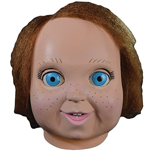 [Universal Studios Child's Play 2 Good Guy Doll Chucky Overhead Mask, One-Size] (The Bride Of Chucky Costume For Kids)