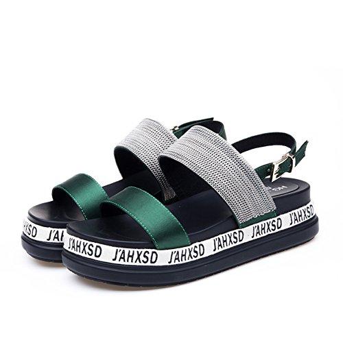 Zapatos gruesos de los zapatos de las sandalias/La palabra con sandalias zapatos de playa A