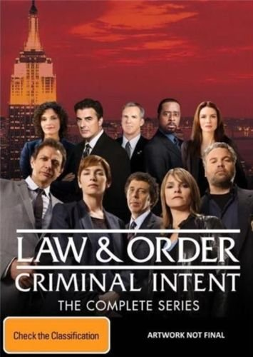 Law & Order: Criminal Intent (Complete Series) - 52-DVD Box Set ( Law and Order - Seasons 1-10 (Law & Order: CI) ) [ NON-USA FORMAT, PAL, Reg.4 Import - Australia ]