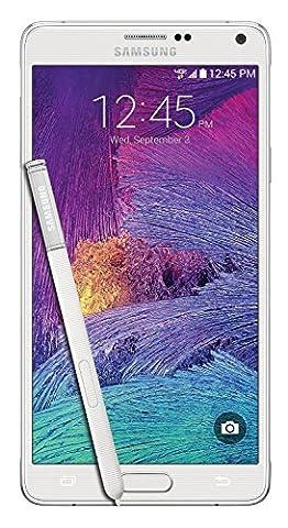 Samsung Galaxy Note 4 N910v 32GB Verizon Wireless CDMA Smartphone - Frosted White (Certified (Galaxy Cdma Unlocked)