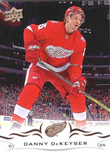 2018-19 Upper Deck #65 Danny DeKeyser Detroit Red Wings NHL Hockey Trading Card