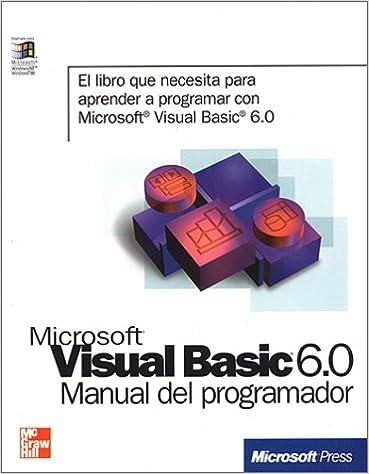 Aprenda visual basic practicando pdf.