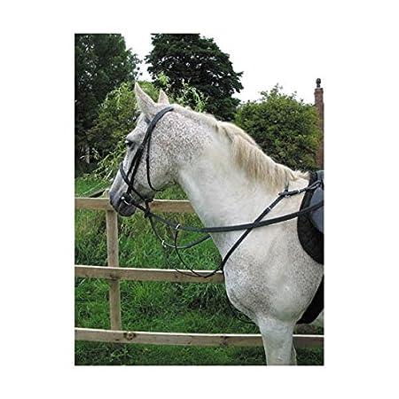 Horse Hunting Breastplate in Black or Brown Hy
