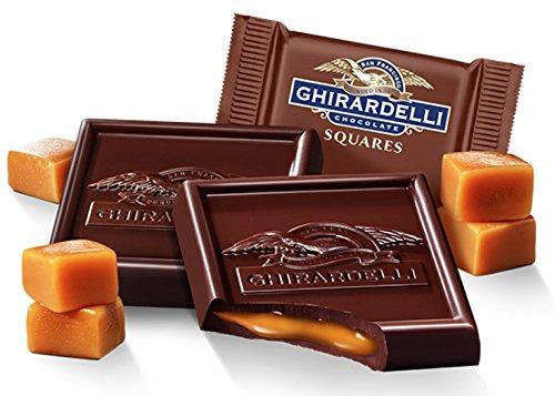 Ghirardelli Bulk Dark Chocolate Caramel Squares (3 pound)