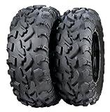 ITP BajaCross Tire - Front/Rear - 30x10x14 , Position: Front/Rear, Rim Size: 14, Tire Application: All-Terrain, Tire Size: 30x10x14, Tire Type: ATV/UTV, Tire Construction: Radial, Tire Ply: 8 6P0087