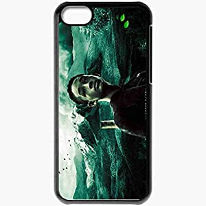 Personalized iPhone 5C Cell phone Case/Cover Skin After earth jaden smith kitai raige actor mountain Movies Black