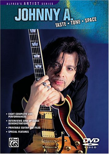 DVD : Johnny A - Taste Tone Space (DVD)