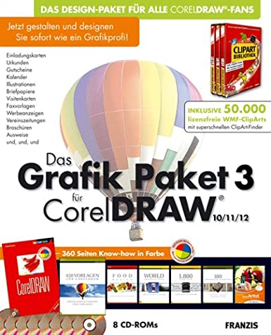 Das Grafik Paket 3 Für Coreldraw Amazon De Software