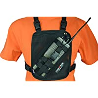 Lone Peak - Universal Mesh Radio Chest Harness (Black)