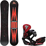 snowboard 155 package - Morrow Truth 155 Mens Snowboard + Sapient Wisdom Bindings - Fits US Mens Boots Sized: 8,9,10,11