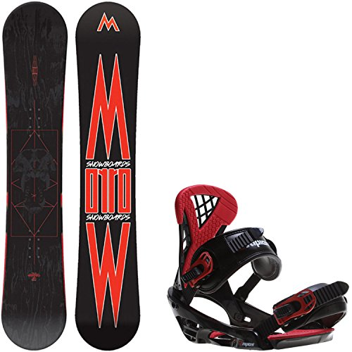 152 cm mens snowboard package - 9