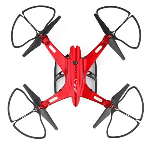 WARMSHOP 3D Foldable With Wifi FPV Camera RC Quadcopter Drone Toys 2.4G 6-Axis Helicopter (Red) by WARMSHOP
