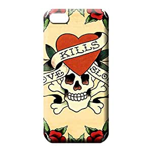iphone 6plus 6p mobile phone back case Cases Shatterproof Perfect Design ed hardy