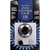 Stanco Gas Oven Burner Knob, Black