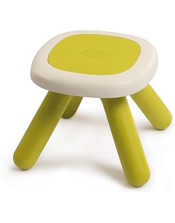 Smoby-3032168802018 Mesa/Taburete Infantil Color Verde 880201