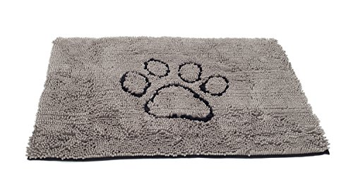 The Original Dirty Dog Doormat, Ultra Absorbent Advanced Microfiber Soaks Up Water and Mud, Super Gripper Backing…