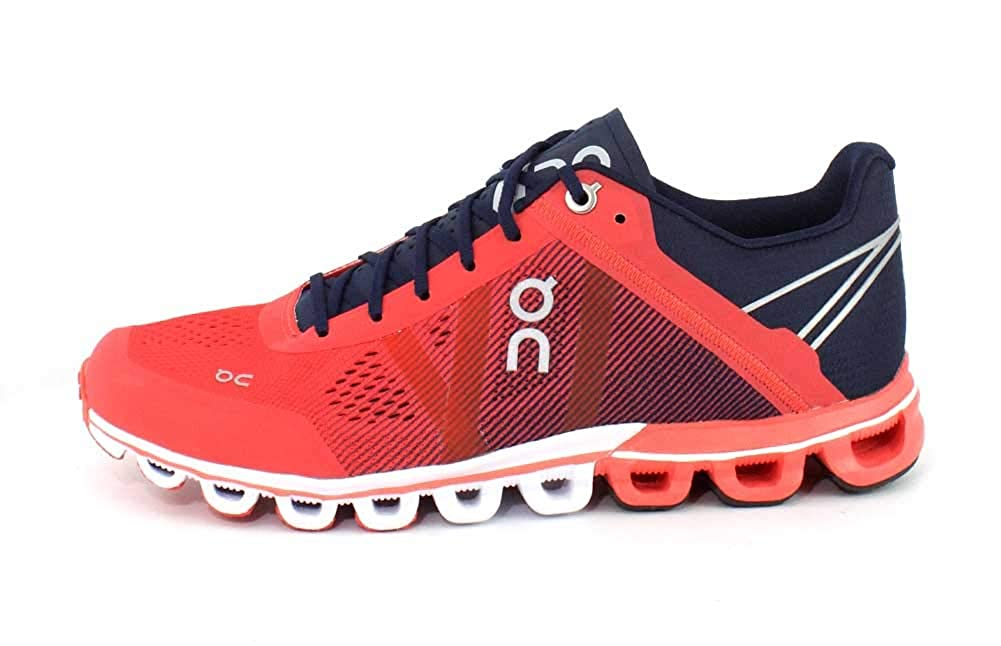 On Running Womens Cloudflow Crimson//Midnight Running Shoe 7.5 On-Running