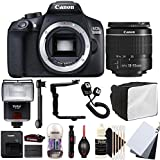 Canon EOS 1300D 18MP Digital SLR Camera with 18-55mm EF-IS STM Lens , SF-4000 Slave Flash and Accessory Kit