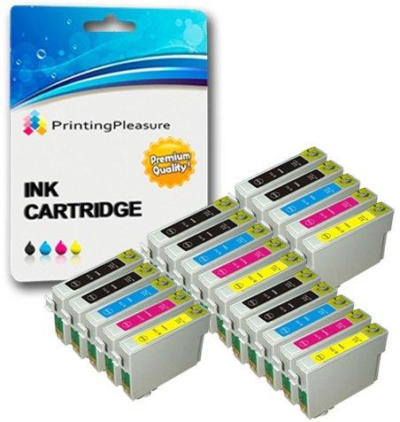 138 opinioni per 20 Cartucce d'inchiostro compatibili per Epson Stylus S20, S21, SX100, SX105,