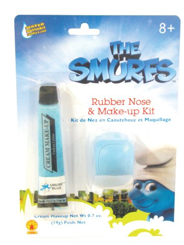 [The Smurfs: Smurf Makeup and Nose] (Smurf Costumes Accessories)