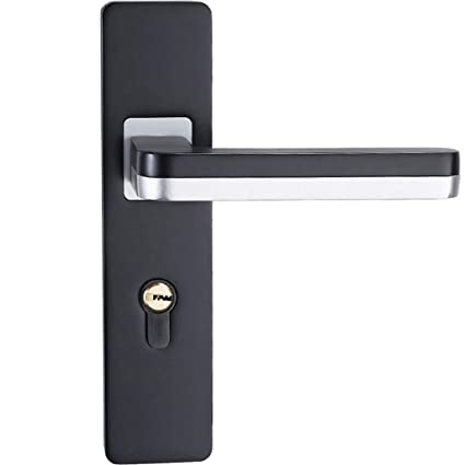 Amazon com: European Noctilucent Bedroom Lock Indoor Door