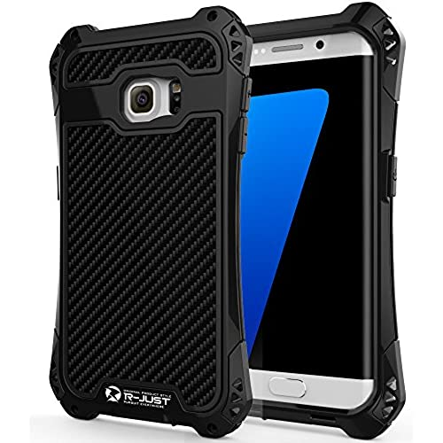 S7 Edge Case, R-JUST [Shock Absorption] Hybrid Dual Layer Armor Defender Protective Case for Samsung Galaxy S7 Sales