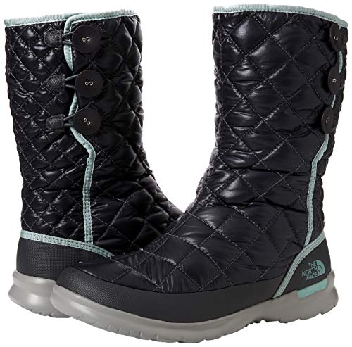 Femme blue Face Blackened Noir North The Insulated Pearl Bottes up shiny De Haze Neige Thermoball Button 5qc 61gg7wnzq