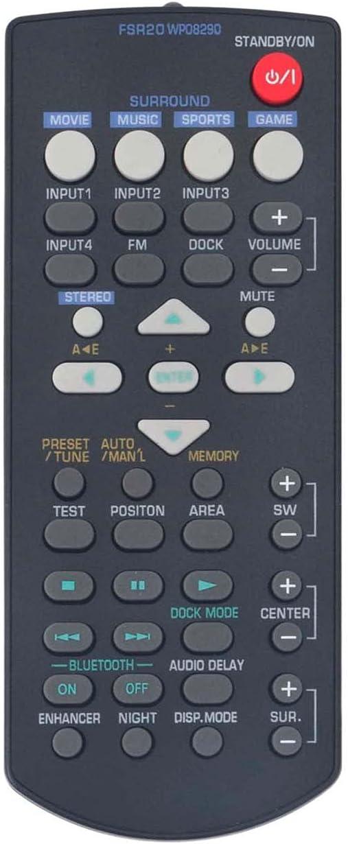 Control remoto FSR20 WP08290  para Yamaha YAS-71 YAS-81