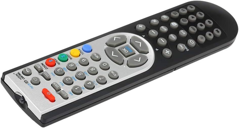 Gamogo RC1900 Control Remoto Compatible con Oki TV HITACHI Alba Luxor GRUNDIG TELEFUNKEN TECHWOOD Akai NEVIR SANYO LCD LED Plasma Smart TV (Negro): Amazon.es: Electrónica