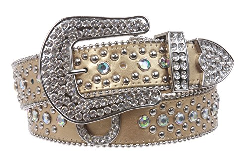 Horseshoe Rhinestone Belt - 4