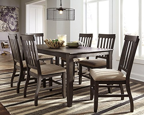 home, kitchen, furniture, kitchen, dining room furniture,  tables 7 picture Signature Design By Ashley - Dresbar Dining Room Table deals