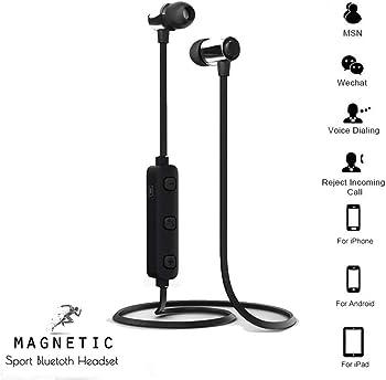 Zippem Neckband Waterproof Sporting Bluetooth Stereo Wireless Earphones
