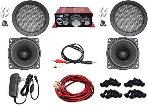 Audio Kit for Arcade Game, MAME Cabinet, or Virtual Pinball Machine