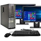 Dell Optiplex 9020 SFF Computer Desktop PC, Intel Core i5 Processor, 16GB Ram, 2TB Hard Drive, WiFi, Bluetooth 4.0, DVD-RW, D