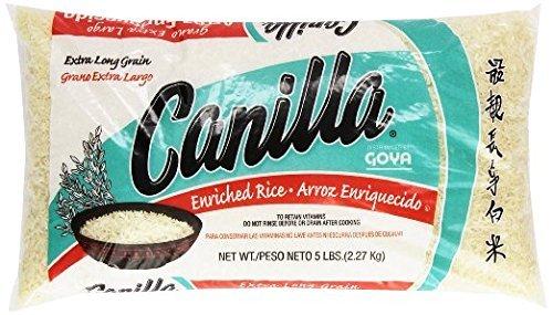 Goya Canilla Long Grain Rice 5.0 LB(Pack of 2) ()