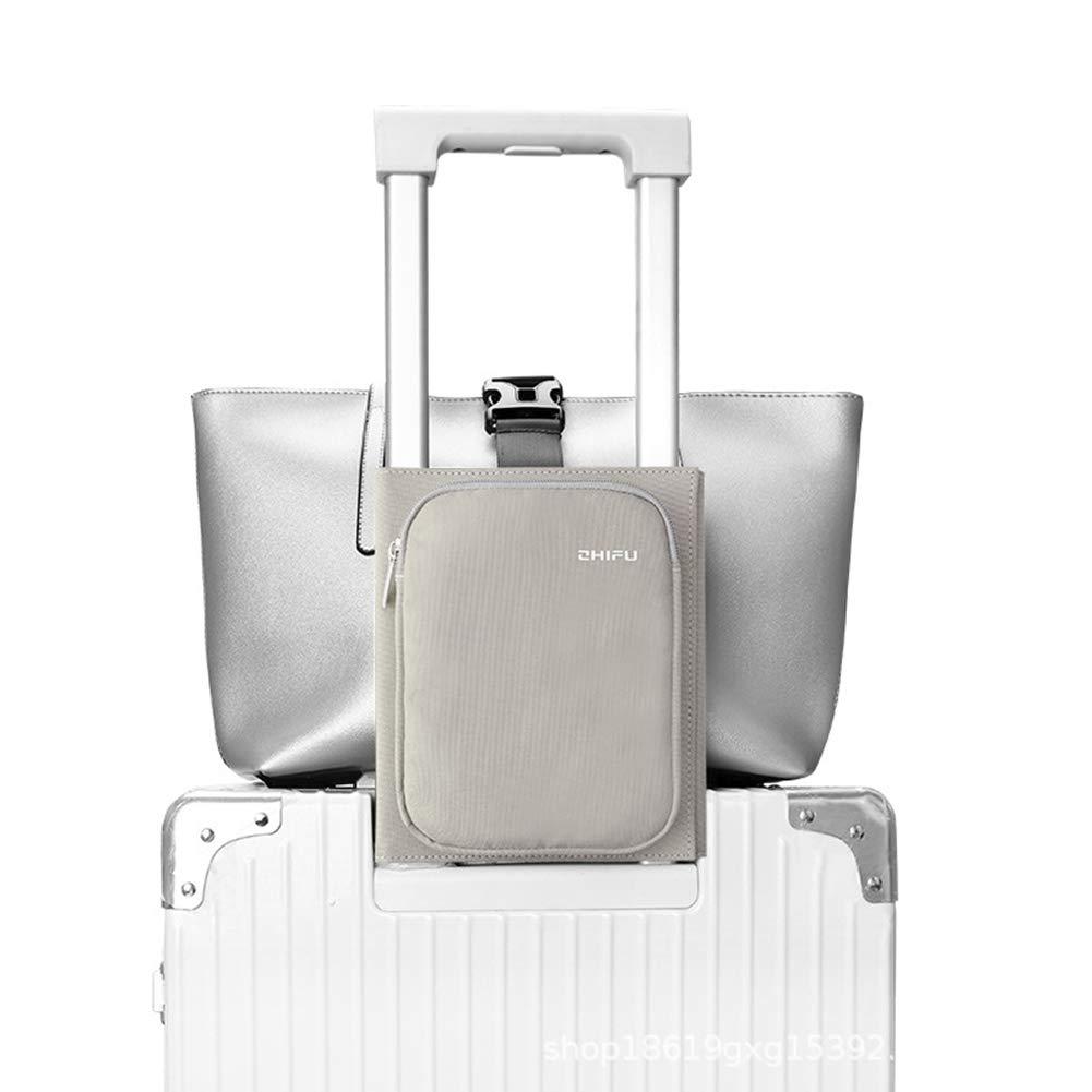 Sangle Valise Voyage /& Sac Voyage Accessoires Multifontion Sangle de Fixation Pliable pour Bagages Bleu Fonction de Sac de Rangement Luggage Strap pour Bagage S/écurit/é