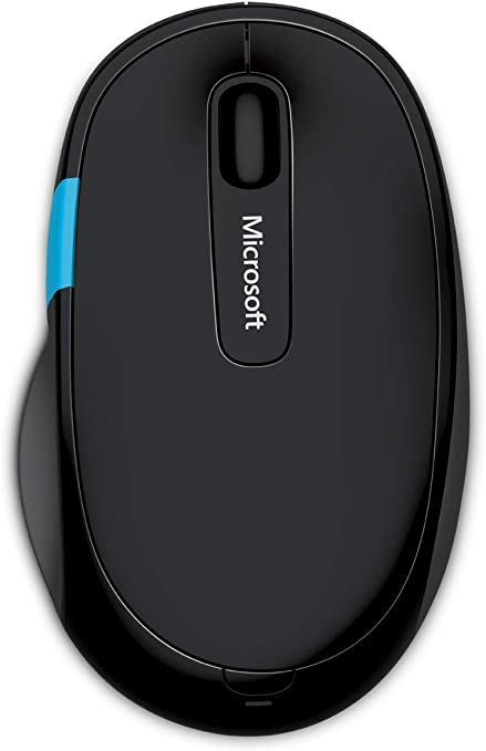 Microsoft – Sculpt Comfort Mouse, Inalámbrico, Negro