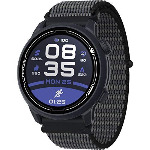 COROS PACE 2 Premium GPS-sporthorloge met nylon band, hartslagmeter, 30 uur volledige GPS-batterij, barometer, ANT…