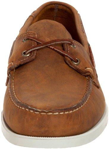 Sebago Docksides Hommes Marron Cuir Chaussures décontractées EU 45