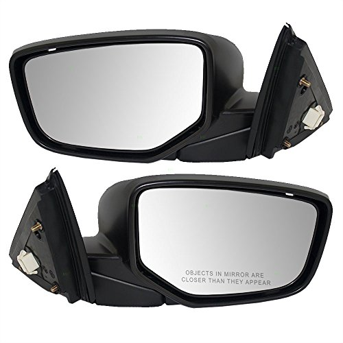 Driver and Passenger Power Side View Mirror Replacement for Honda Coupe 76258-TE0-A01 76208-TE0-A01 AutoAndArt