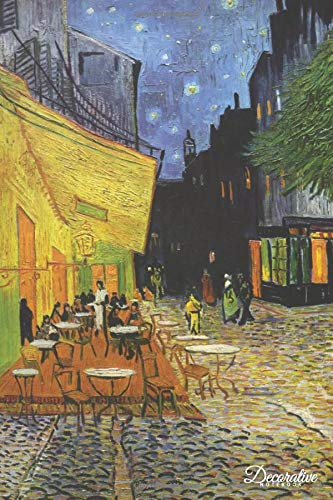 - Decorative Notebook: Cafe Terrace at Night by Vincent Van Gogh Journal Pocket-sized Notebook Travel Diary