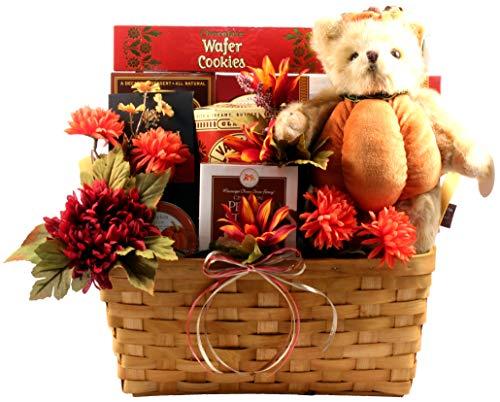 Gift Basket Village - Gobble Gobble, Thanksgiving Gift Basket With Snacks Of The Season