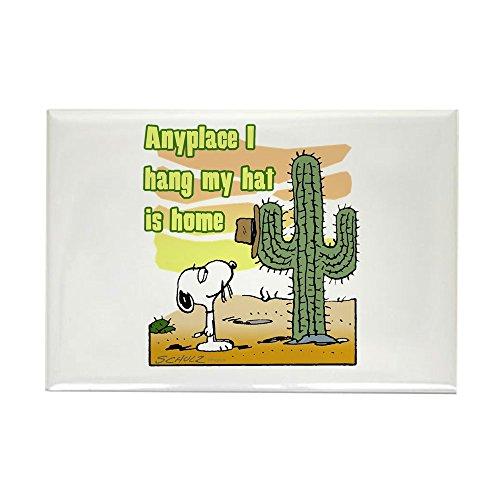 CafePress Cactus Home Rectangle Magnet, 2