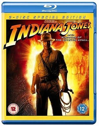 Indiana Jones And The Kingdom Of The Crystal Skull Edizione: Regno Unito ITA Reino Unido Blu-ray: Amazon.es: Karen Allen, Cate Blanchett, Jim Broadbent, Alan Dale, Harrison Ford, John Hurt, Shia LaBeouf, John