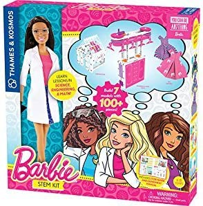 Thames & Kosmos Barbie STEM Kit with Nikki Scientist Doll [並行輸入品]