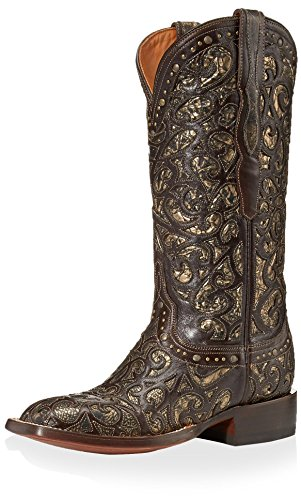 Lucchese Womens Western Boot Espresso