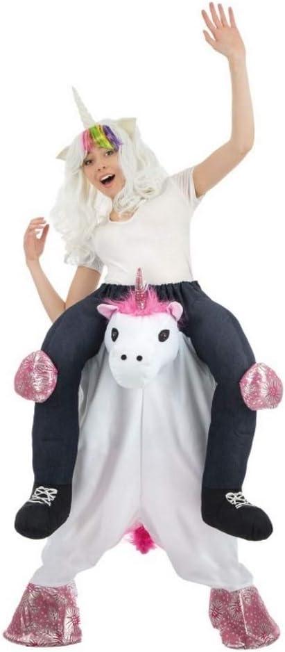 Chaks c4238, disfraz molletonné Carry Me unicornio adulto: Amazon ...