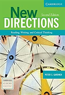 Amazon new directions teachers manual an integrated approach new directions reading writing and critical thinking cambridge academic writing collection fandeluxe Choice Image