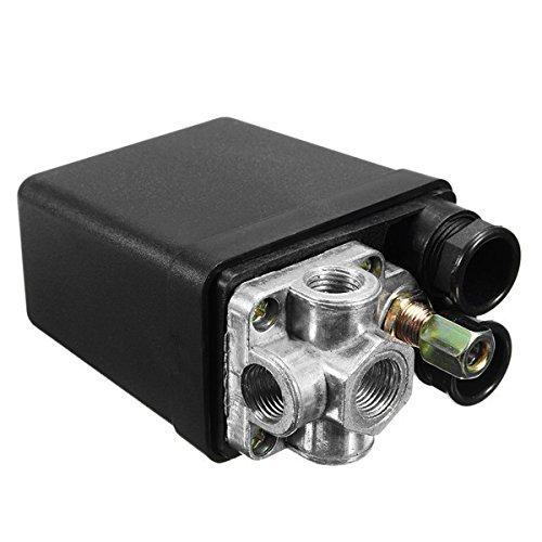 Hitommy 90Psi-120Psi 240V 20A Air Compressor Pressure Switch Control Valve